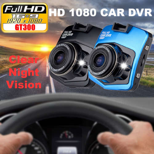 gt 300 car camera dashboard camera dvr hd 1080