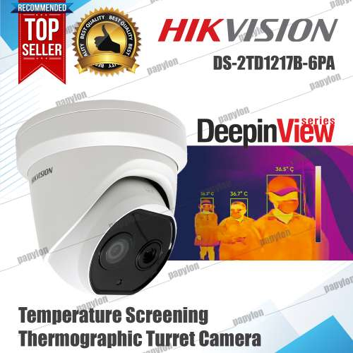 Hikvision DS-2TD1217B-6/PA Thermal Camera