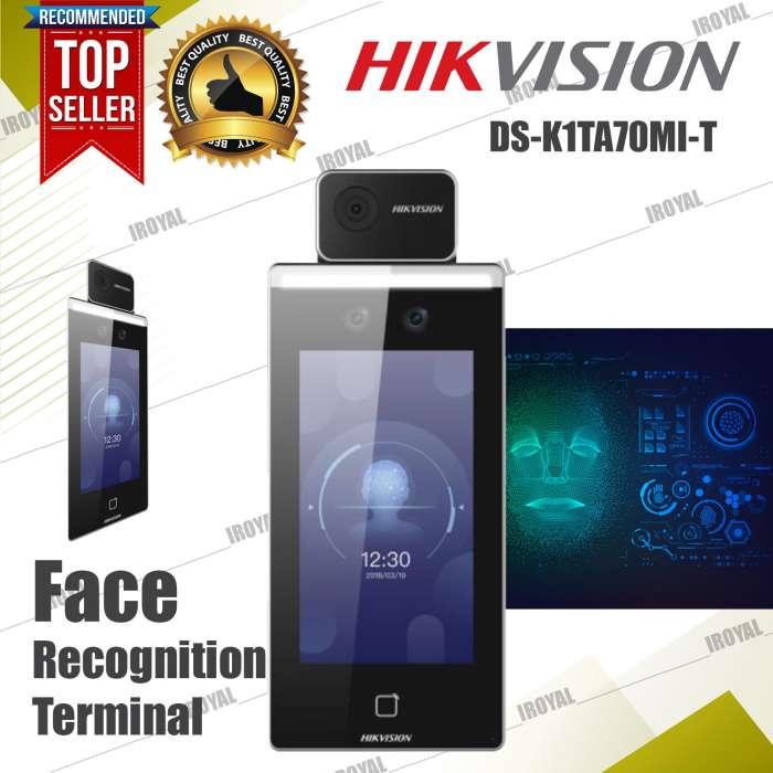 Hikvision DS-K1TA70MI-T Face Recognition