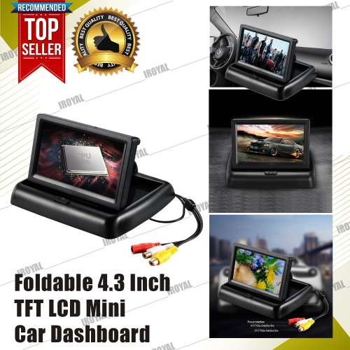 TFT LCD Mini Car Dashboard