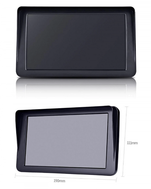 "MDVR722R 7"" MONITOR Full HD 1080P Dual Camera Dashcam"