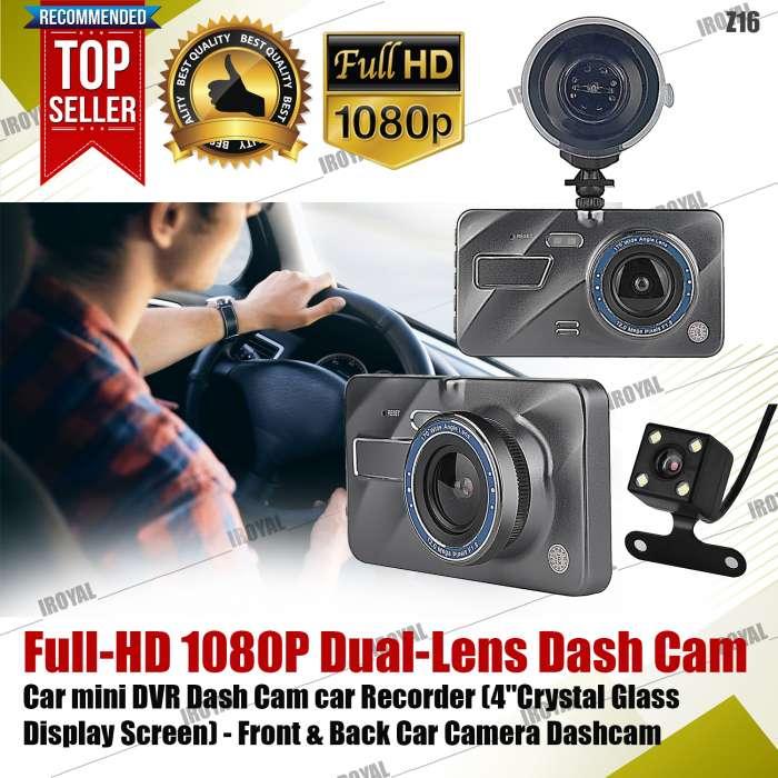 DCZ16-2 Full-HD 1080P Dual-Lens Dash Cam Car mini DVR Recorder