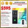 Fingerprint Network Access Control Time Attendance Door Access INSTALLATION PACKAGE F7Plus