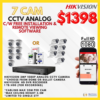 hikvision analog cctv package in singapore