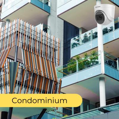 cctv package in singapore CONDOMINIUM