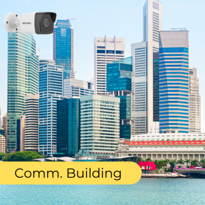 cctv package in singapore COMMERCIAL BUILDING